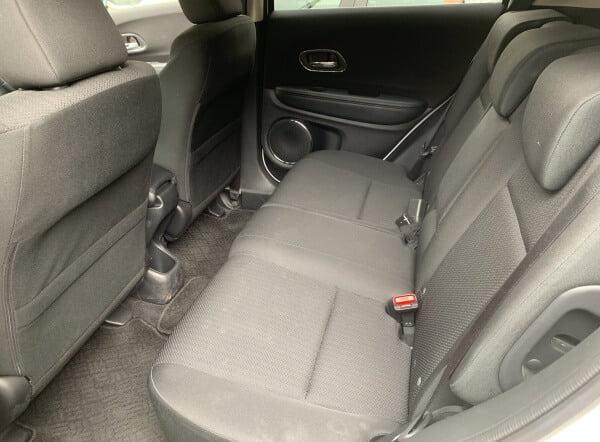 オリックスカーシェア車内後ろ座席
