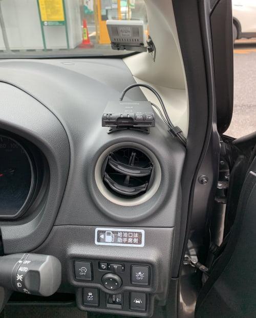 カレコカーシェアノート車内ETC