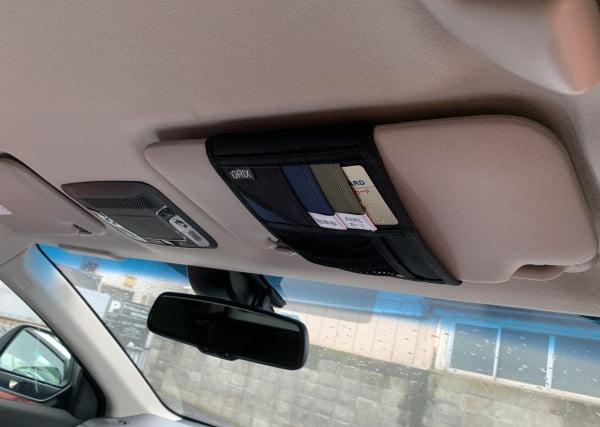 オリックスカーシェア給油カードの場所